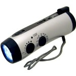 Freelance Travel Writer Gear - Hand Crank Flashlight